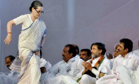 Sonia Gandhi Kerala slams BJP_0
